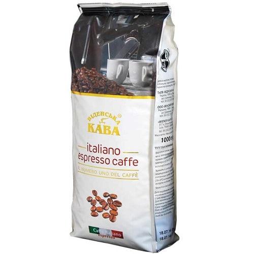 Кофе в зернах Віденська кава Italiano espresso caffe