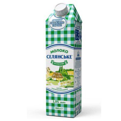Молоко Селянське 1,5%