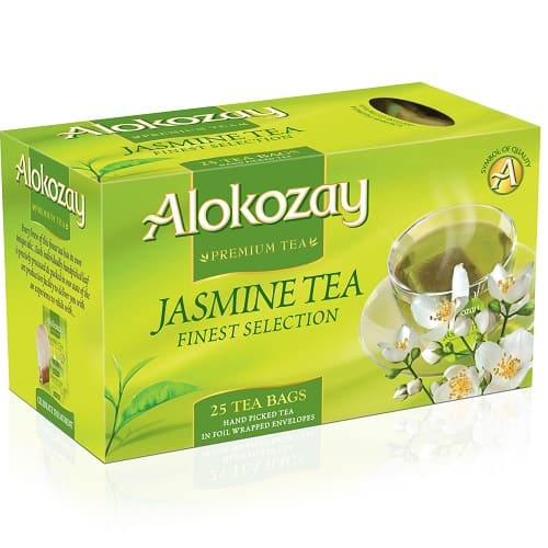 Чай Alokozay зеленый с жасмином