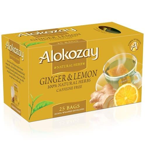 Чай Alokozay с имбирем и лимоном