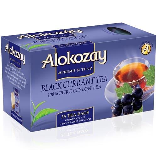 Чай Alokozay черный со смородиной