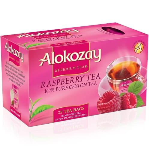 Чай Alokozay черный с малиной