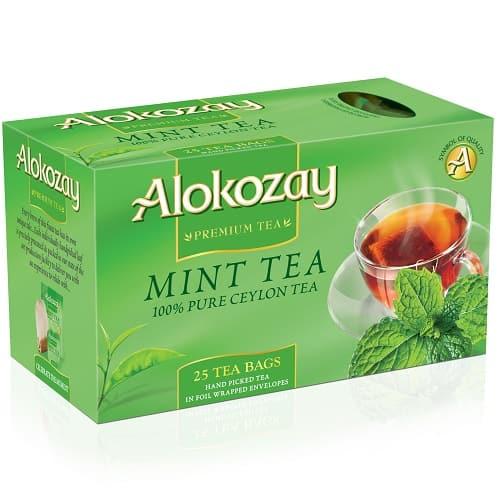 Чай Alokozay черный с мятой