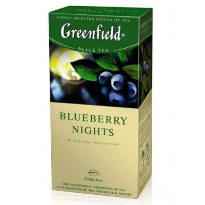 Чай Greenfield Blueberry Nights