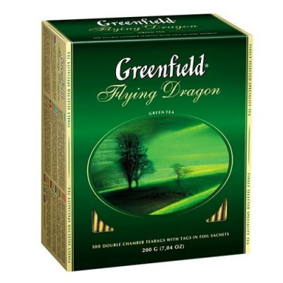 Чай Greenfield Flying Dragon 100 пакетов
