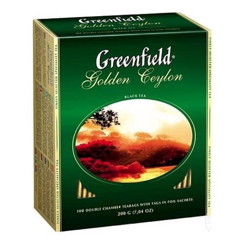 Чай Greenfield Golden Ceylon