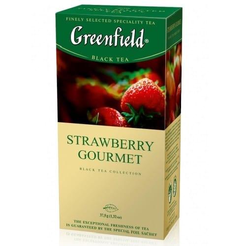 Чай Greenfield Strawberry Gourmet