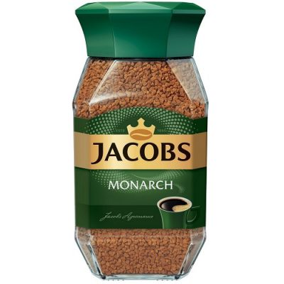 Растворимый кофе Jacobs Monarch 190 г стекло