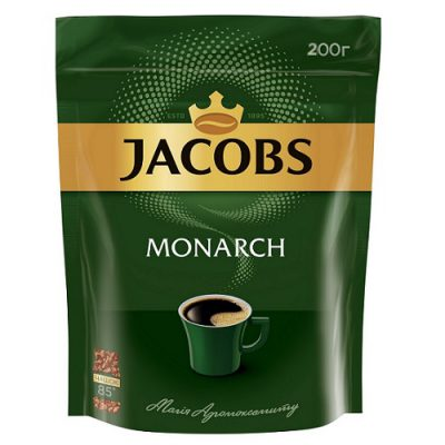 Растворимый кофе Jacobs Monarch 200 г