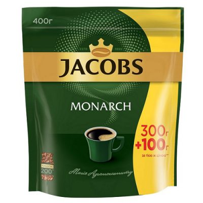 Растворимый кофе Jacobs Monarch 400 г