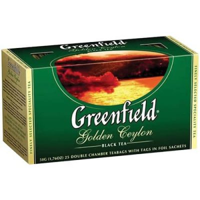Чай Greenfield Golden Ceylon 25