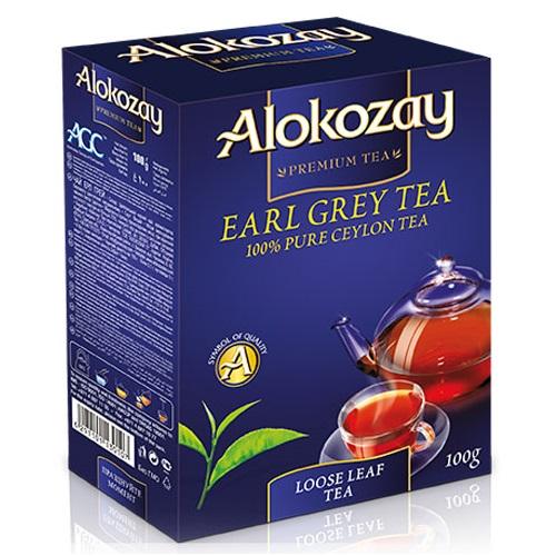 Чай Alokozay с бергамотом