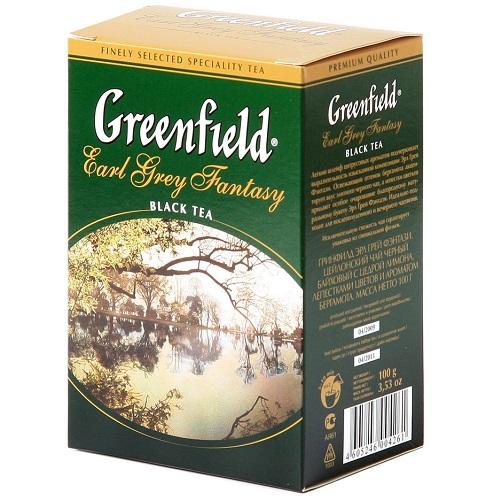 Чай Greenfield Earl Grey Fantasy листовой