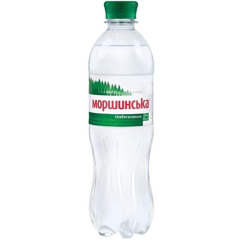 Минеральная вода Моршинская слабогазированная