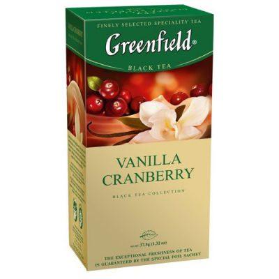 Чай Greenfield Vanilla Cranberry