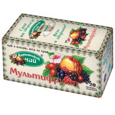 Чай Карпатский Мультифрукт