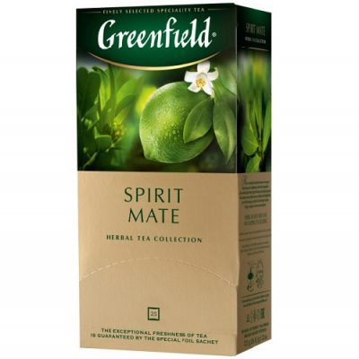 Greenfield Spirit Mate 25 пакетов