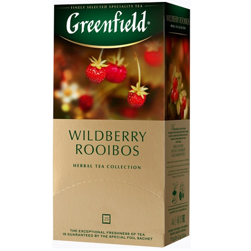 Greenfield Wildberry Rooibos 25 пакетов