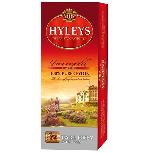 Чай Hyleys Earl Grey 25 пакетов