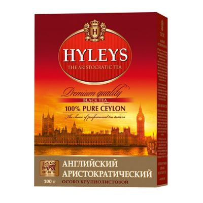 Чай Hyleys English Black 100 г