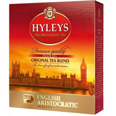 Чай Hyleys English Black 100 пакетов
