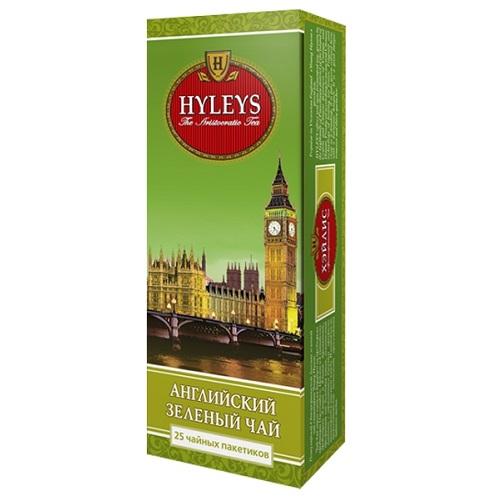 Чай Hyleys English Green 25 пакетов
