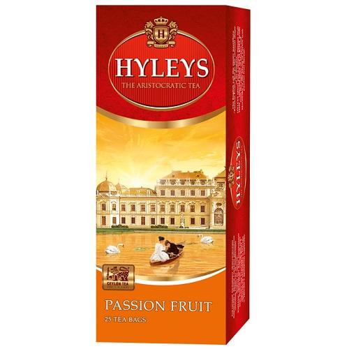 Чай Hyleys Passion Fruit Black 25 пакетов