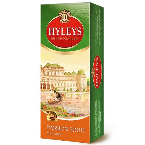 Чай Hyleys Passion Fruit Green 25 пакетов
