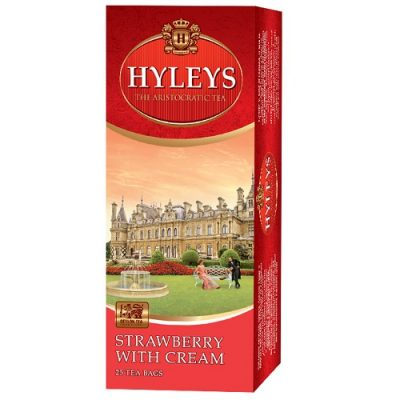 Чай Hyleys Strawberry with cream 25 пакетов