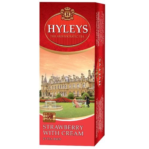 Чай Hyleys Strawberry with cream 25 пакетов