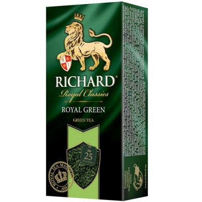 Чай Richard Royal Green 25 пакетов