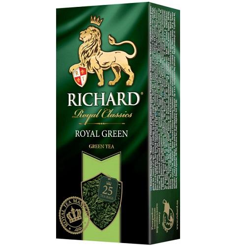 Чай Richard Royal Green 25 пакетов