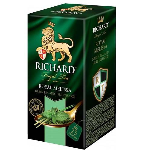 Чай Richard Royal Melissa 25 пакетов
