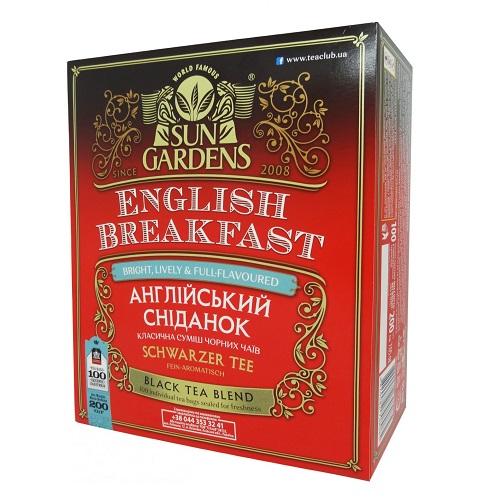 Чай Sun Gardens Английский завтрак 100 пакетов