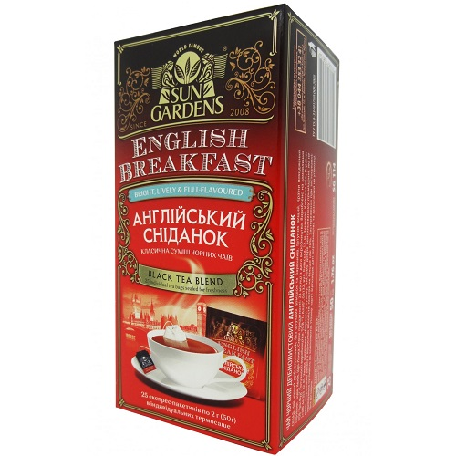 Чай Sun Gardens Английский завтрак 25 пакетов