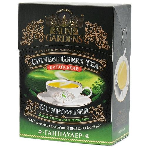 Чай Sun Gardens Ганпаудер 100 г