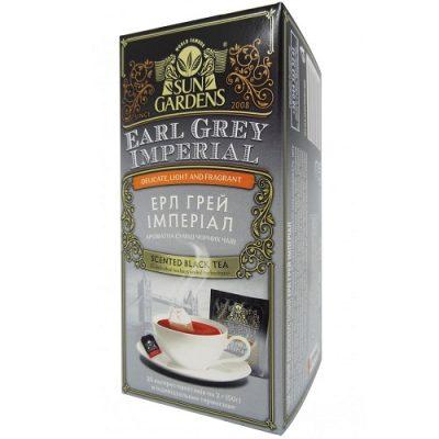 Чай Sun Gardens Ерл Грей Империал 25 пакетов
