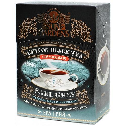 Чай Sun Gardens Ерл Грей 90 г