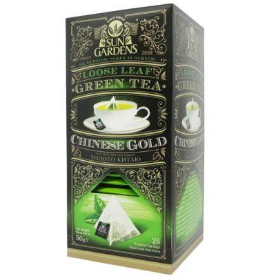 Чай Sun Gardens Золото Китая 25 пакетов