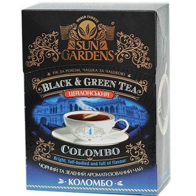 Чай Sun Gardens Коломбо Микс 100 г