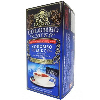 Чай Sun Gardens Коломбо Микс 25 пакетов