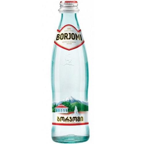 Минеральная вода Боржоми стекло 0,5 л
