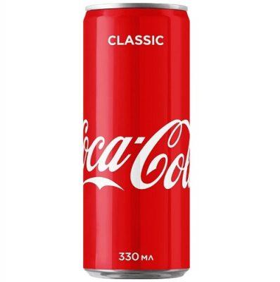 Напиток Coca cola 0,33 л