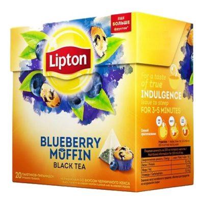 Чай Lipton Blueberry Muffin 20 пирамидок