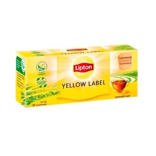 Чай Lipton Yellow Label