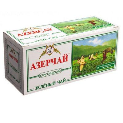 Чай Azercay зелёный