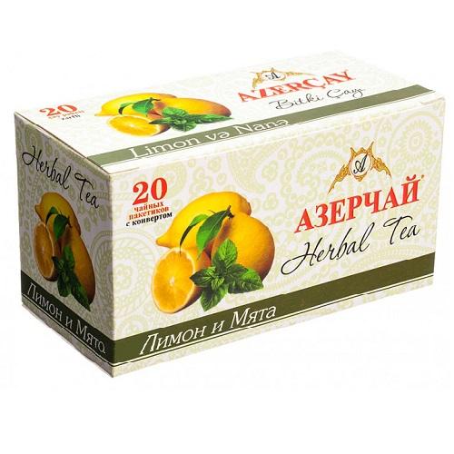 Чай Azercay лимон и мята