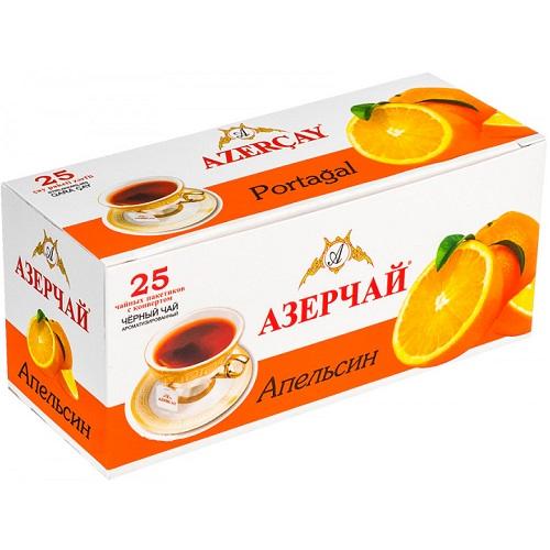Чай Azercay черный с апельсином