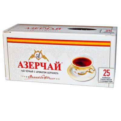 Чай Azercay черный с бергамотом