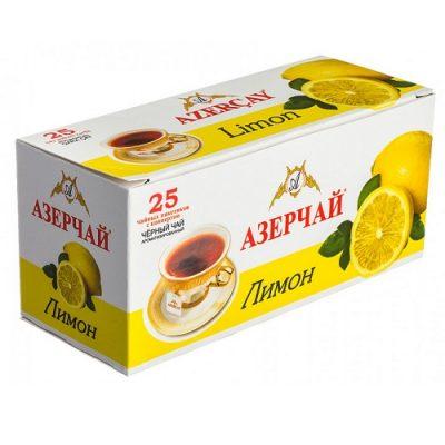 Чай Azercay черный с лимоном
